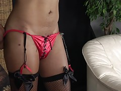 Valerie is a super sexy Florida transgirl with a hot slim body, nice natural boobs with puffy nipples and an amazing firm booty! Watch her stripping, showing off her perfect body and playing with her cock for your eyes only!
