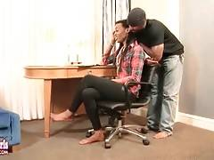 Attractive ebony t-girl JLo is longing to get fucked.